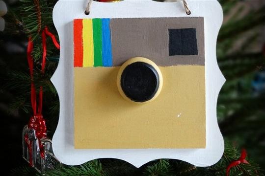 DIY Instagram Ornament