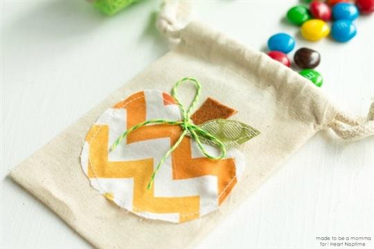 Mini Pumpkin Treat Bag