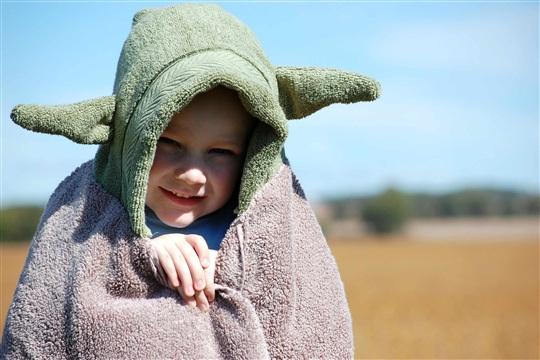Yoda Hooded Towel