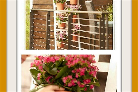 DIY Vertical Container Garden